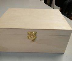 houten kisje