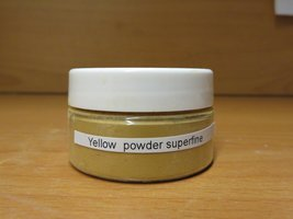 proefverpakking yellow powder  20 ml