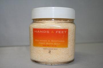 Relax. & Sooth. foot bath salth (geel) 550 gr.