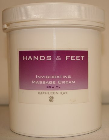 Invigorating Massage Cream 550 ml