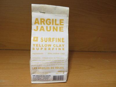 Gele klei Yellow powder superfine 250g