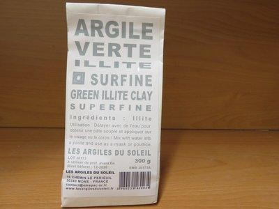 Groene Klei Green Illite superfine powder 300g